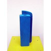 vase for one flower,blue