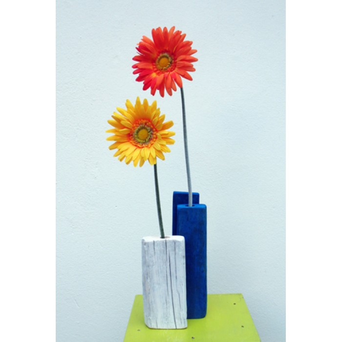 Vase For One Flowerblue